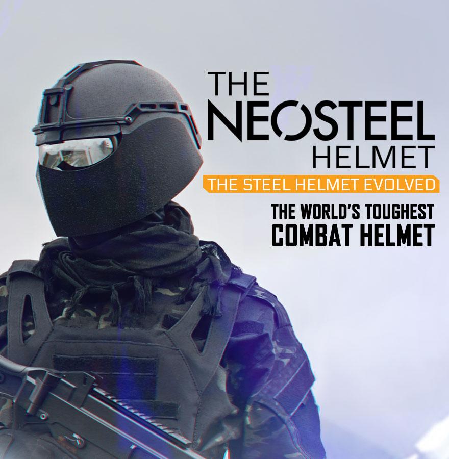 Anti-ballistic combat helmet - VPAM-3